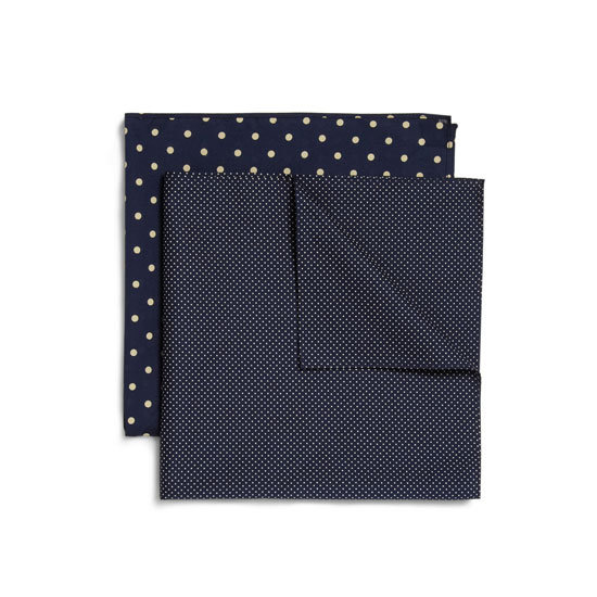 Derek Rose Two-Pack Printed Cotton Handkerchiefs, approx $26