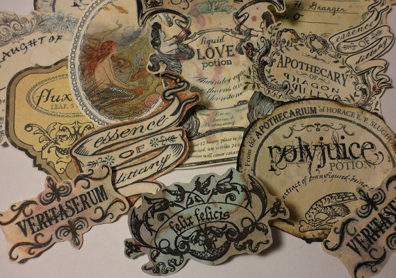 Potion Labels ($6)