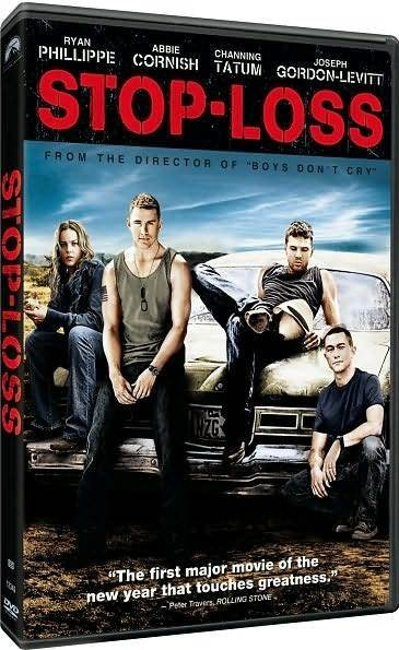 Stop-Loss DVD ($10)