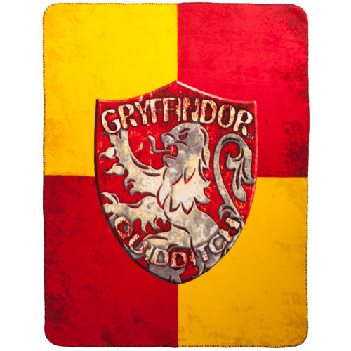Harry Potter Gryffindor Crest Fleece Throw ($25)