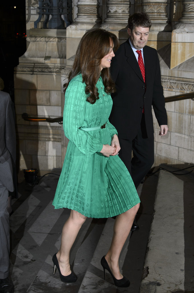 Kate Middleton Goes Green — Again — at a Natural History Museum Reception