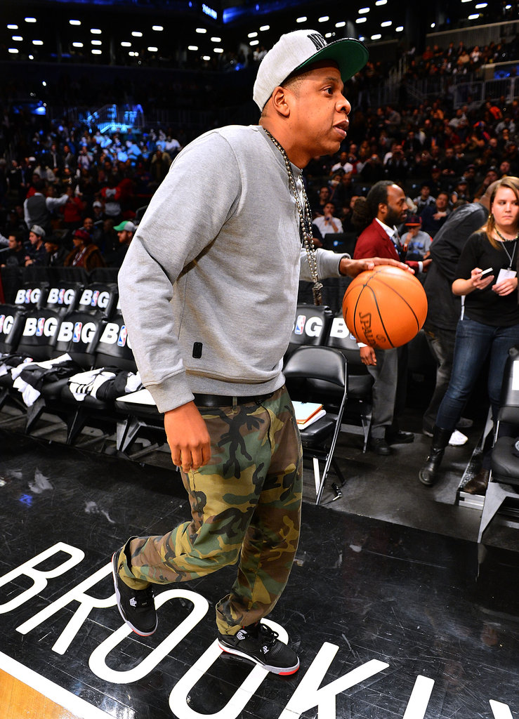 Beyoncé Knowles and Jay-Z Watch the Nets Win — Over the Knicks!