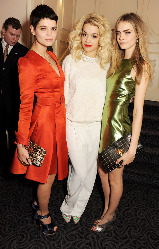 The British Fashion Awards Bring Out Salma, Lily, Alexa, and More