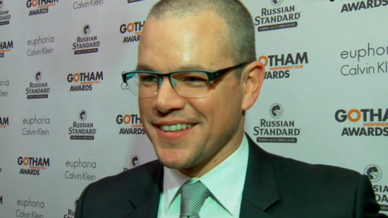 "Video: Matt Damon Shares ""Surreal"" Memory With Ben at Gotham Awards!"