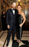 Stella McCartney posed with Alasdhair Willis at the British Fashion Awards in London.