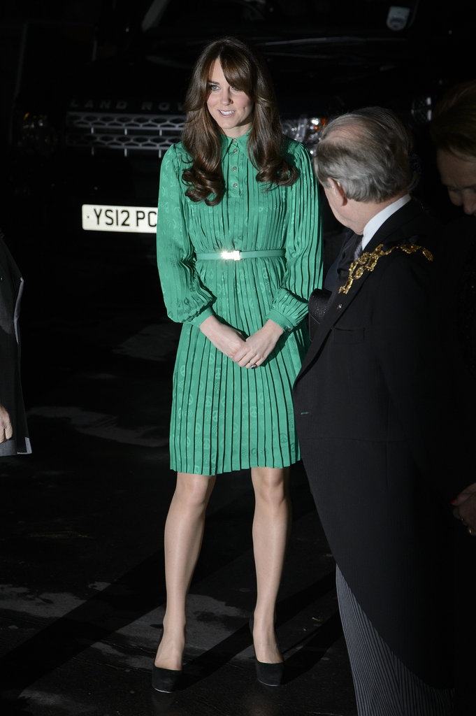 Kate Middleton attended an event at the Natural History Museum in London.