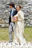 Margherita Missoni walked down the aisle to Eugenio Amos in a June affair held in a small town in Italy.