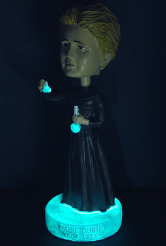 Marie Curie Bobblehead