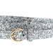 J.Crew's glittery silver belt ($35) — which also comes in gold — will add mega shine (and fun) to your holiday style.
