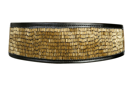 Arden B's metallic beaded waist belt ($34) is perfect for the party girl who seeks a bit of kimono flair.