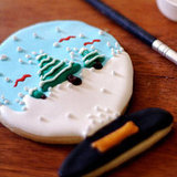 Snow Globe Sugar Cookies