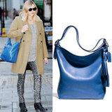 Fearne Cotton's Blue Coach Bag