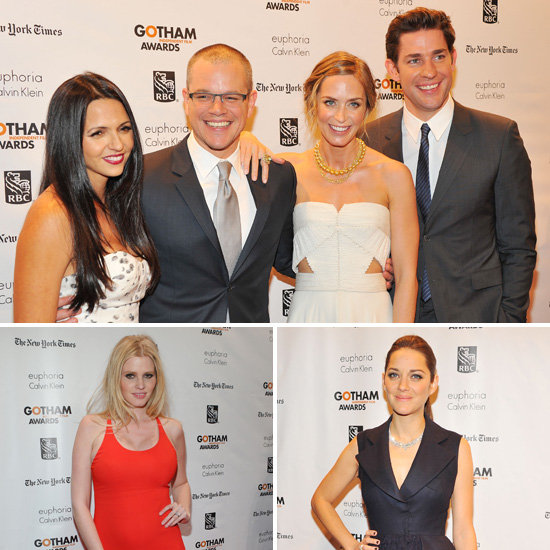 Big Screen Stars Celebrate Independent Films at Gotham Awards