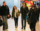 Kristen Stewart and Robert Pattinson Depart From NYC Together