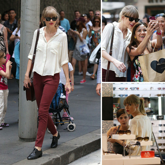 Top Beauty Headlines Taylor Swift in Sydney, Young Kate Moss