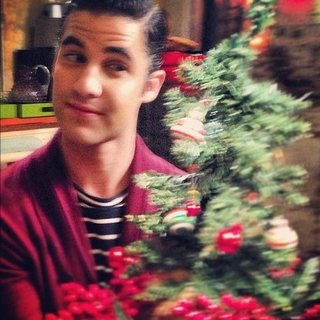 Glee Holiday Episode Pictures From Instagram