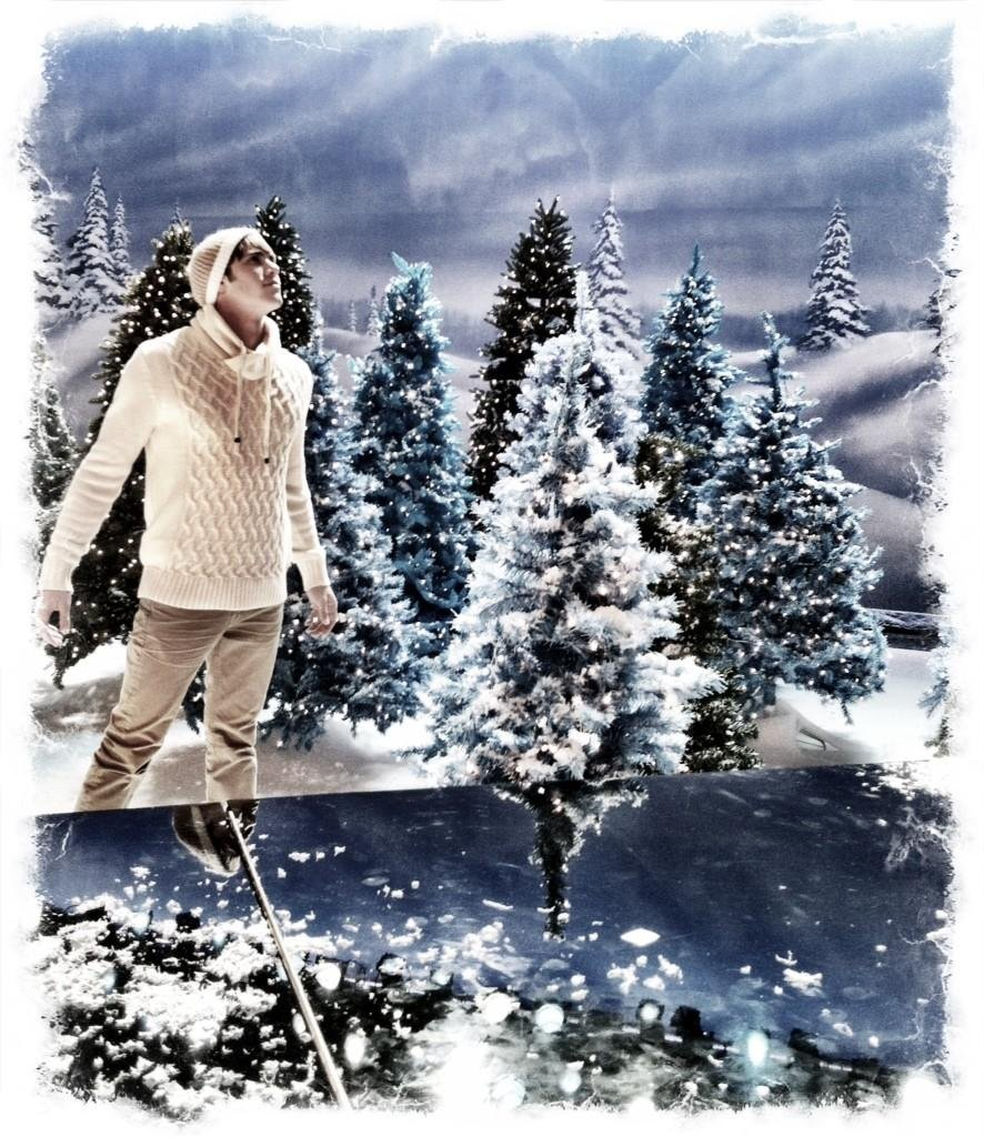 Blake Jenner relishes in a Winter wonderland as Ryder Lynn. Source: Twitter user MrRPMurphy