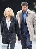 Ben Affleck hung out with him mom, Chris, in LA.