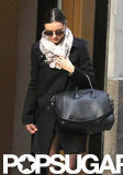 Miranda Kerr wore all black.
