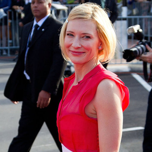 Cate Blanchett at The Hobbit World Premiere in New Zealand