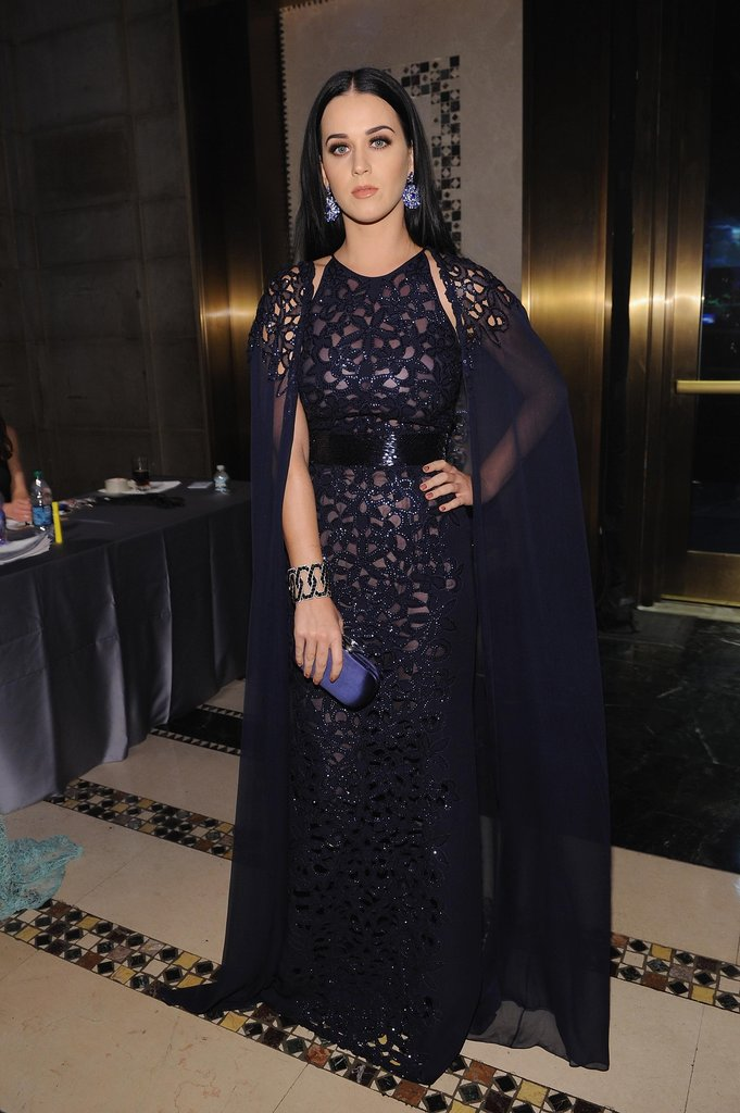 Katy Perry stepped out in NYC to attend the Unicef Snowflake Ball.