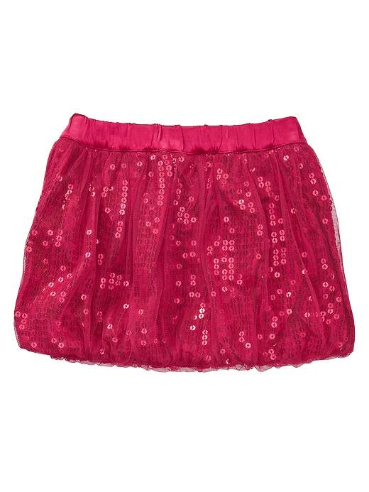 Gap Sequin Tulle Bubble Skirt