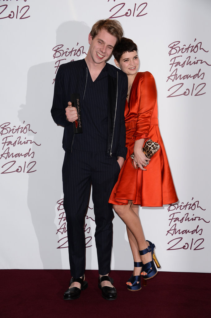 Jonathan Anderson and Pixie Geldof