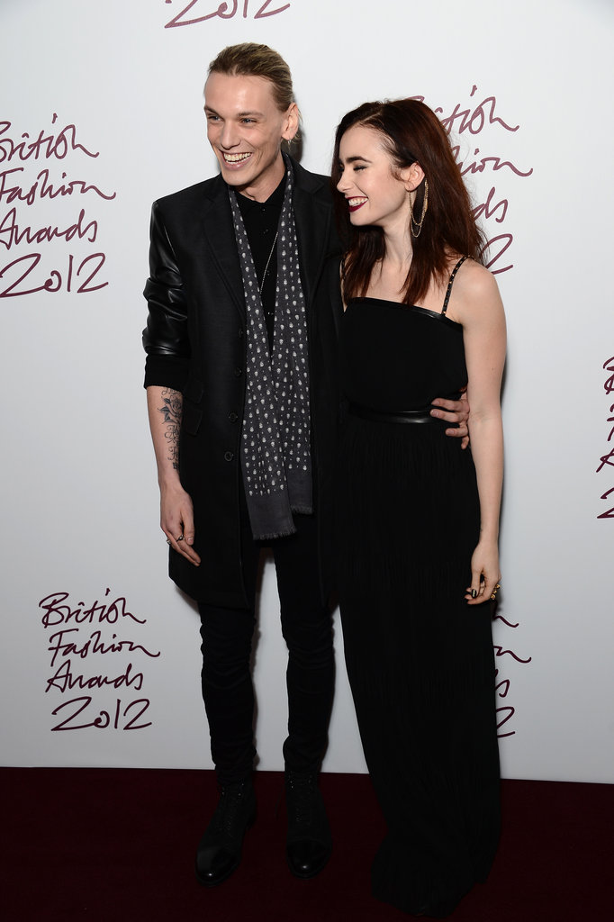 Jamie Campbell-Bower and Lily Collins