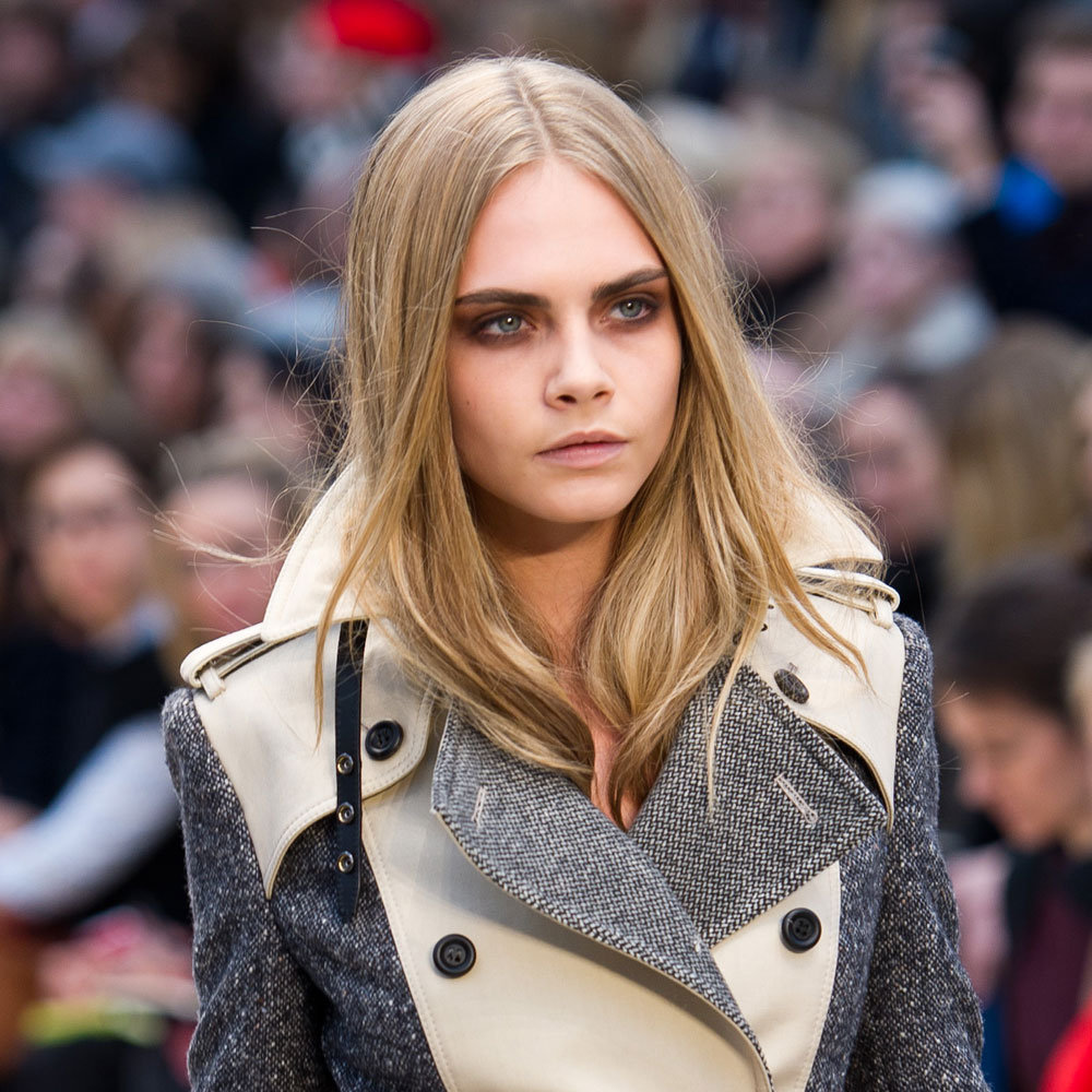February 2012: Autumn Winter London Fashion Week Burberry Prorsum