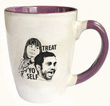 Parks and Recreation Treat Yo Self Mug ($16)