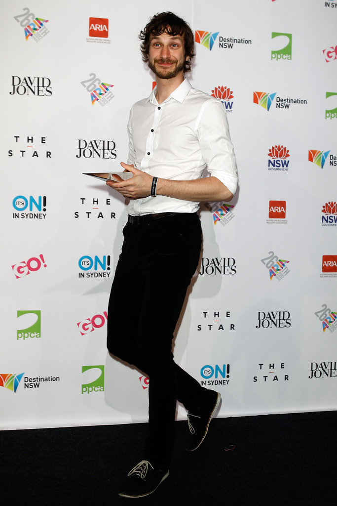 Gotye won an award at the Aria Awards in Sydney.