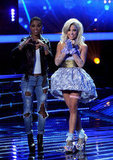 Britney Spears Debuts a New Video While X Factor Contestants Sing No. 1 Hits
