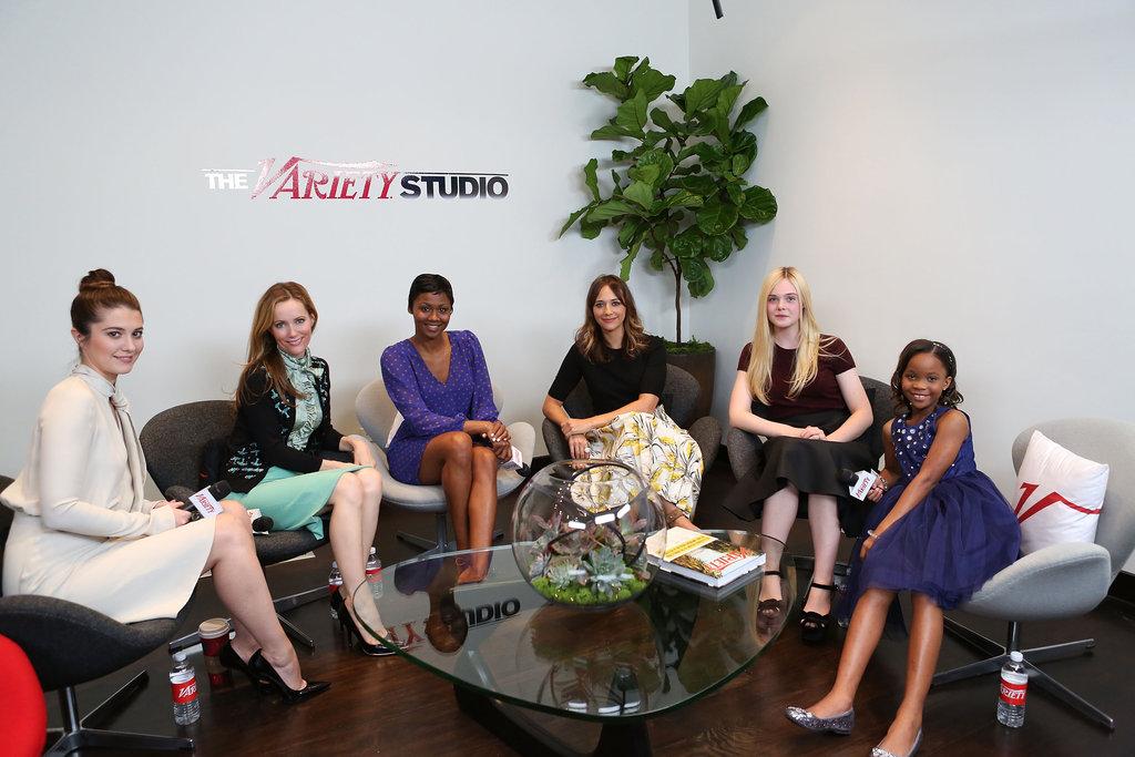 Kristen Stewart Goes See-Through to Drop By Variety's Studio