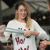 Lauren Conrad Wearing Ho Ho Ho Sweatshirt