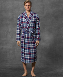 Plaid Robe