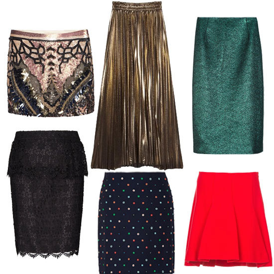 Cute Holiday Skirts (Shopping)