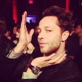 Derek Blasberg struck a pose. Source: Instagram user bryanboycom