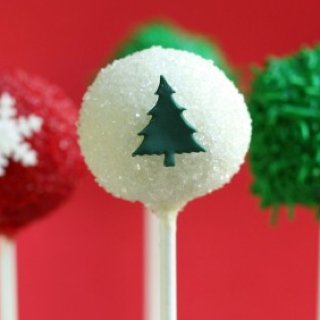 Christmas Holiday Cake Pops