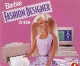 Barbie went digital in the '90s with the Barbie Fashion Designer CD-Rom for your PC.