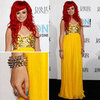 Pictures of Sarah DeBono in Rachel Gilbert at the 2012 ARIAs