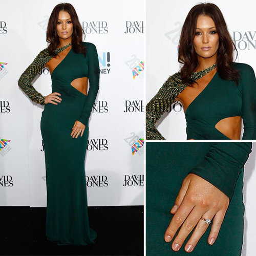 Erin McNaught in Emilio Pucci at the 2012 ARIA Awards