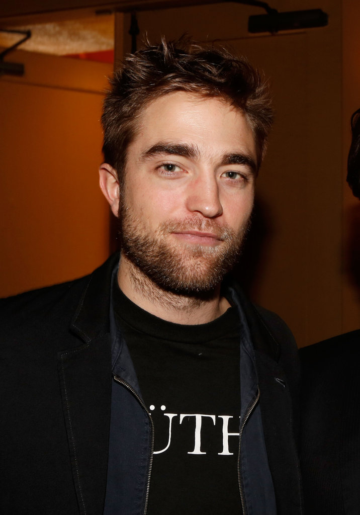 Robert Pattinson Shows His Support For Richard Gere in LA