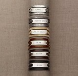 Restoration Hardware Leather Triple-Wrap Bracelet