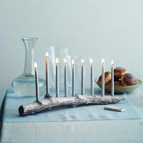 DIY Menorahs From Martha Stewart