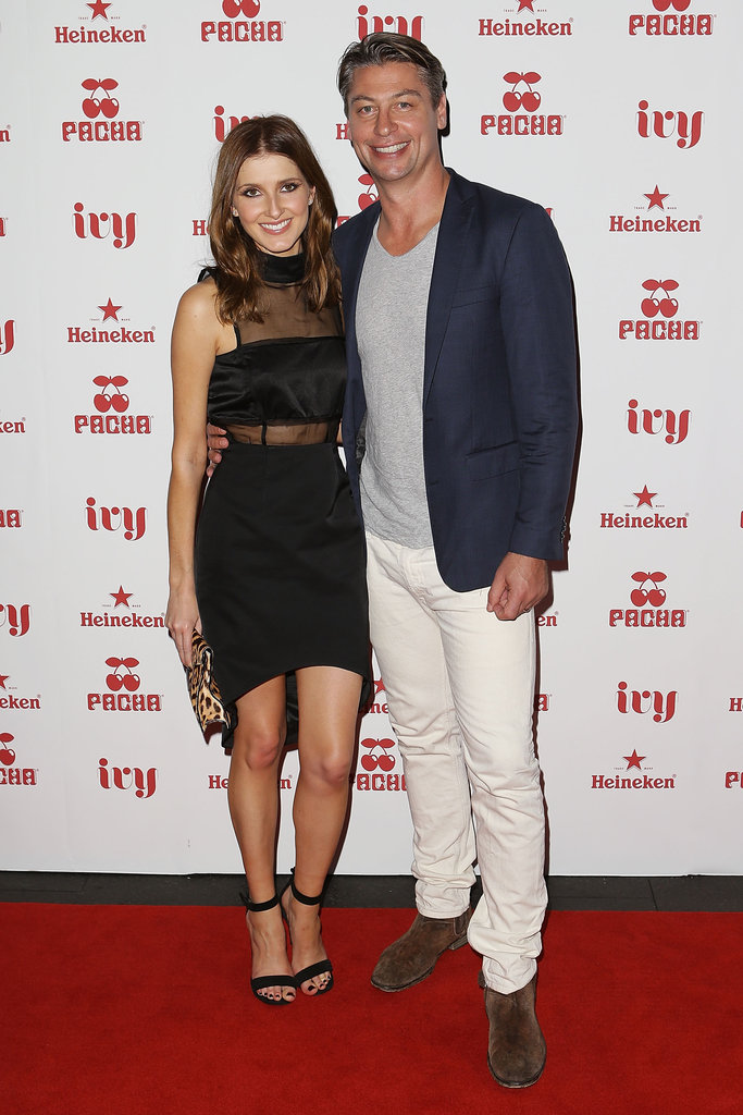 Kate Waterhouse and husband Luke Ricketson attended the launch of Pacha Sydney at Ivy on Saturday November 24.