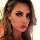 Laura Dundovic had sexy makeup for the ARIAs. Source: Instagram user lauradundovic