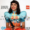 Kimbra Wears Anna Langdon Dress at the 2012 ARIA Awards