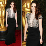 Kristen Stewart Goes With Ladylike Lace For the Governors Awards