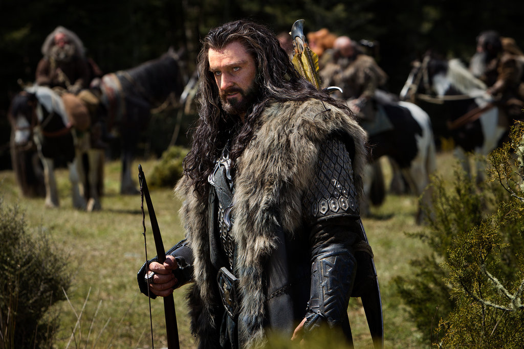 Richard Armitage in The Hobbit: An Unexpected Journey.