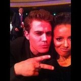 The Vampire Diaries' Kat Graham shared a picture of her and costar Paul Wesley. Source: Instagram user katgrahampics